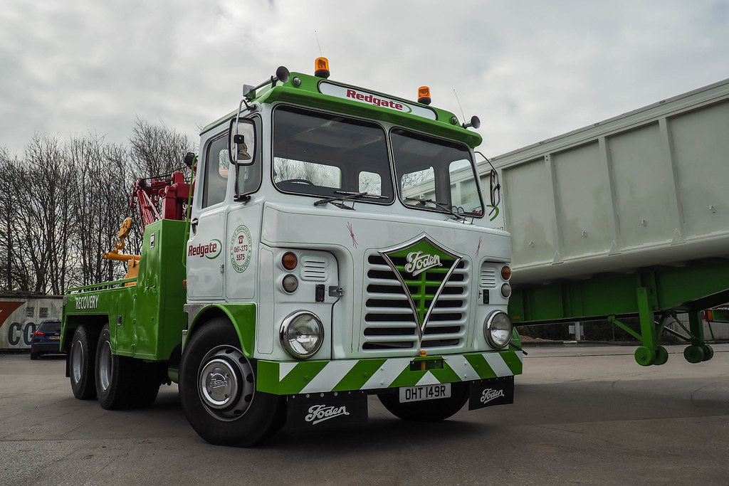 foden s83 recovery oht 149r 1976 foden s83 recovery truc flickr