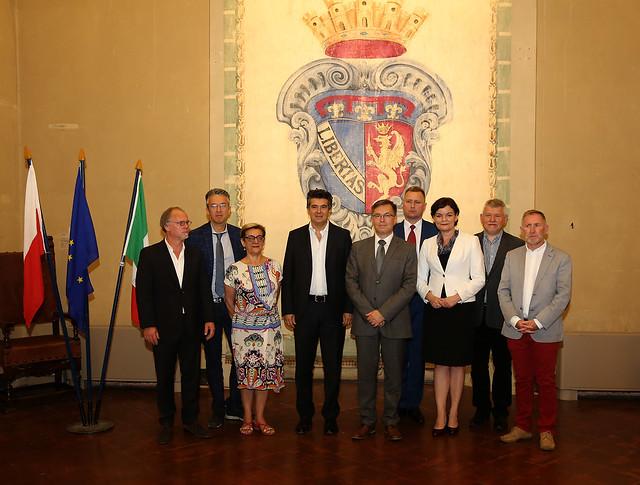 Imola e Piła firmano l'Accordo di collaborazione
