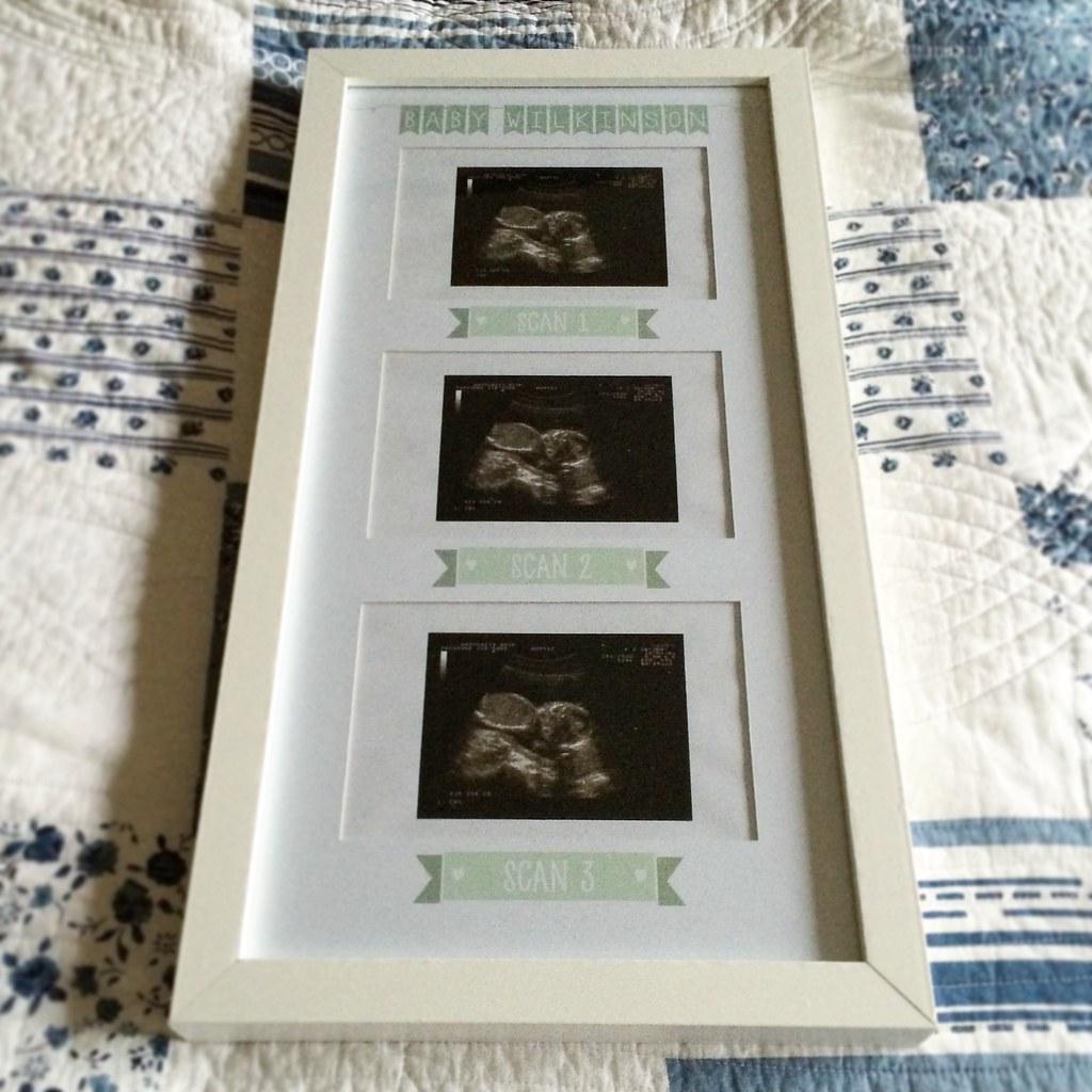 Personalised Baby Scan Frame | Emma Needham | Flickr