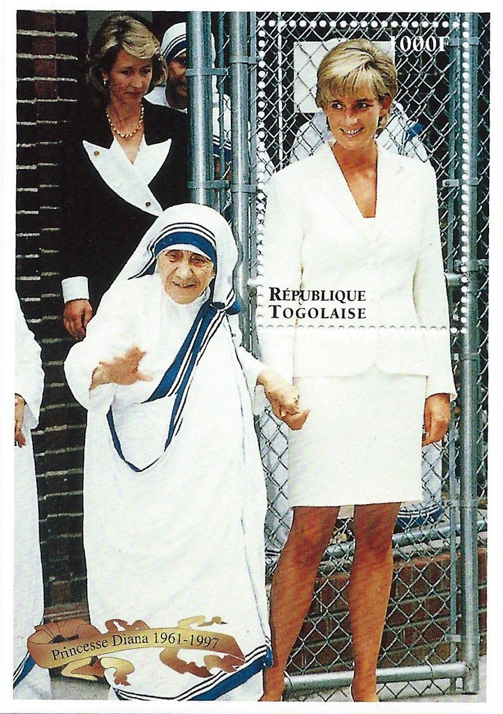 mother teresa princess diana