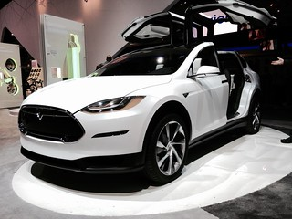 Tesla Model X front view | by Don McCullough