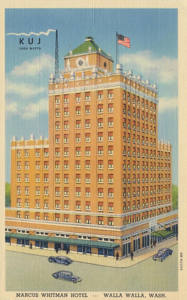 Marcus Whitman Hotel - Walla Walla, Washington