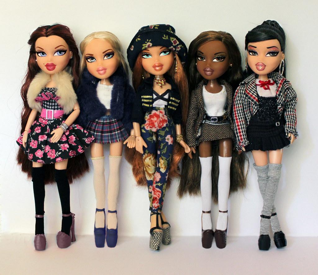 Fashion style Bratz Original dolls names for lady