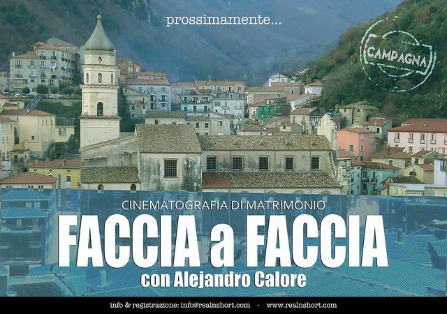 FACCIA A FACCIA con Alejandro Calore (REAL&SHORT®)