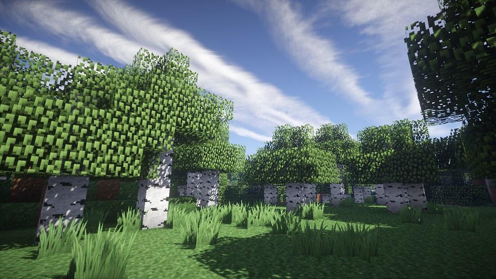 Offene Lichtung Minecraft Wallpaper Flickr