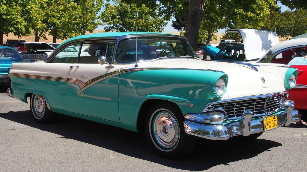 1956 Ford Fairlane Victoria 2 Door Hardtop Uhv 381 2 Flickr