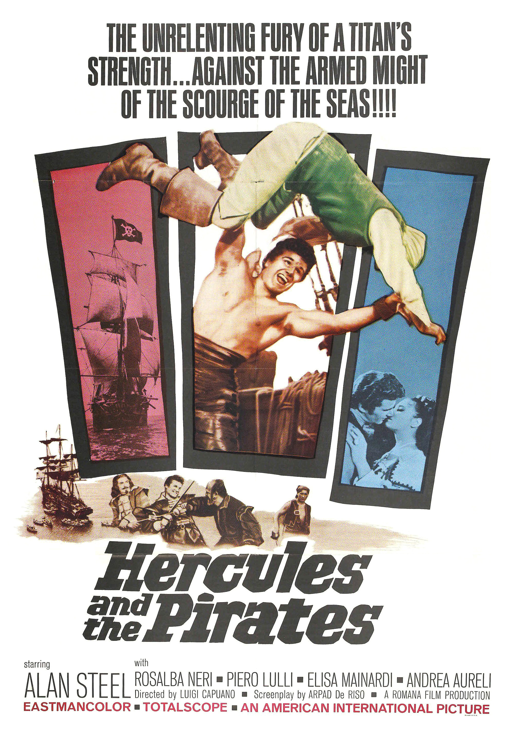 Hercules and the Black Pirates (1964)