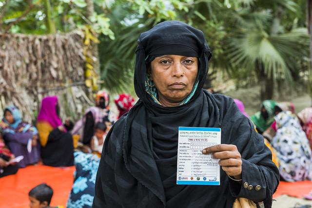 Khadija Begum, savings group leader. Foto Agencies, 2016.
