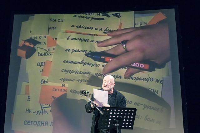 Charles Pennequin: poésie et performance
