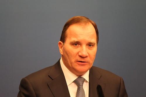 Statsminister Stefan Löfven (S)   Presskonferens om kränknin…   Flickr