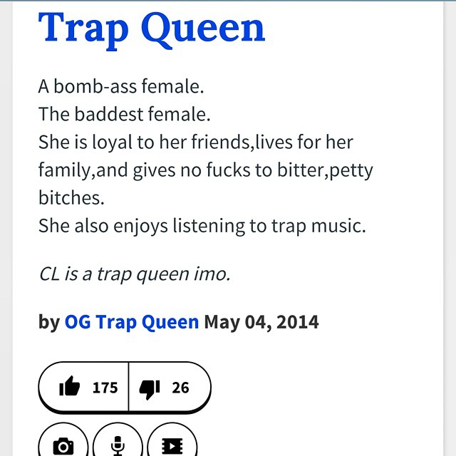 google what is the def of trap queen urbandictionary l flickr