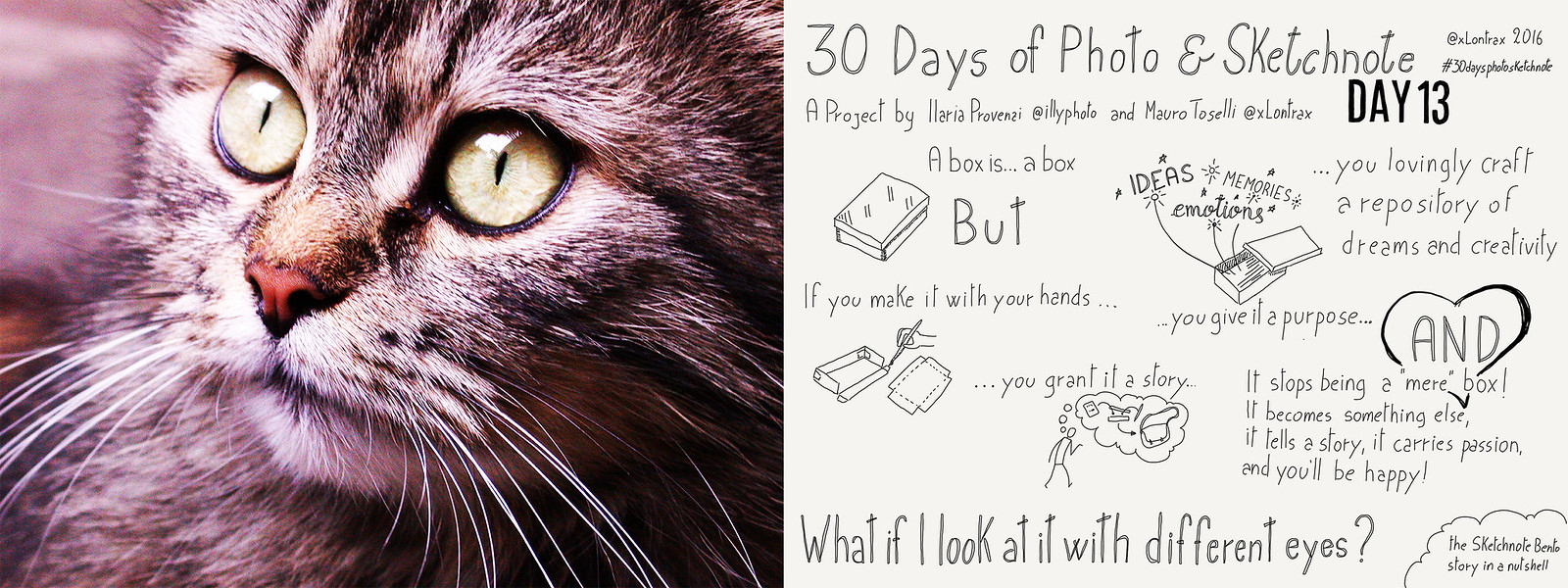 Day 13. E se lo guardassi con occhi diversi? - What if I look at it with different eyes?
