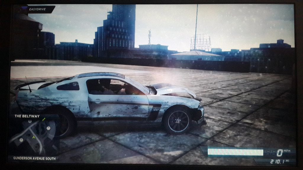 Ford Mustang Gt Need For Speed Most Wanted  Xtreme Damaged By
