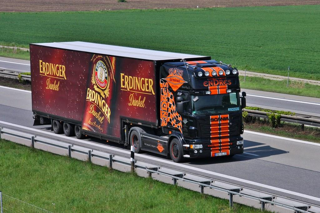 Scania R-560 Getränke Endres | Scania R-560 von Getränke Lud… | Flickr