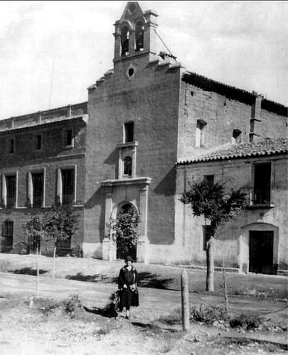 Iglesia de las casetas ca 1920 en el peque o pueblo de l flickr Tiempo en casetas zaragoza