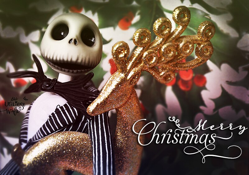 by theugliestwife jack skellington wishes you all merry christmas by theugliestwife - Christmas Jack Skellington