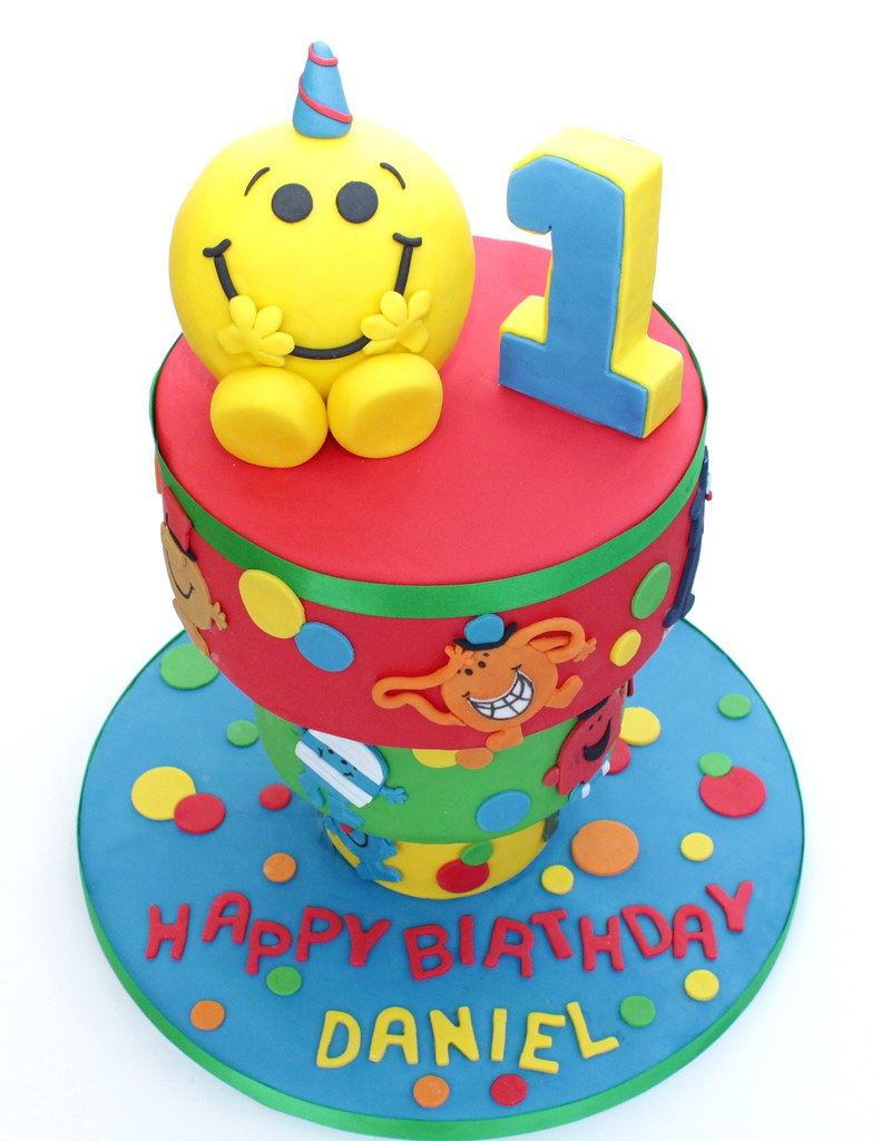 Upside Down Mr Men Cake A Tospy Turvy Mr Men Themed Cake F Flickr