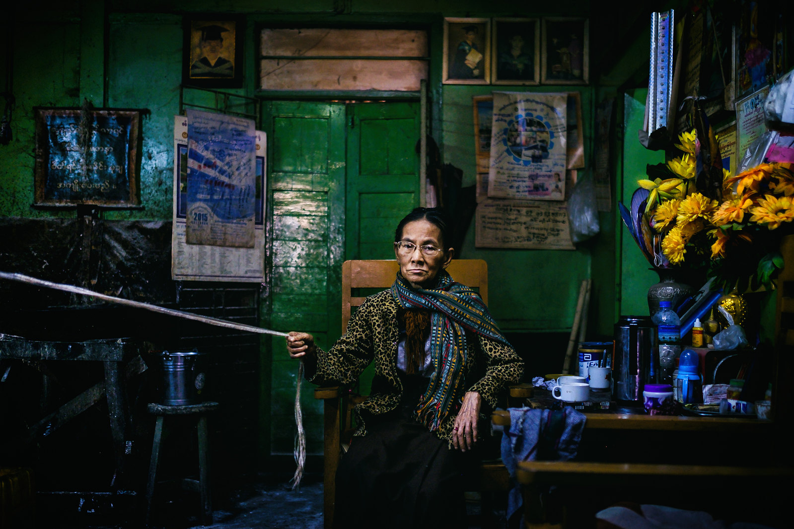Sagaing bar owner, Myanmar | by Guille Ibanez
