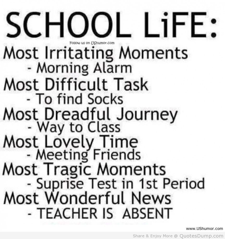 Good Quotes On School Life Good Quotes On School Life We D Flickr