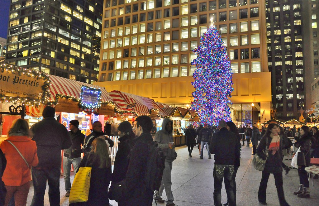 christmas market chicago by stevelamb007 - Chicago Christmas Market