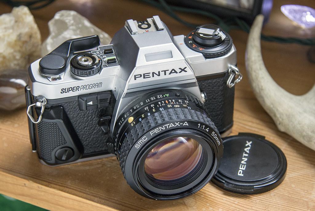 pentax super program 1983 thrift store buy in nearly pri flickr rh flickr com Pentax Cameras Pentax Cameras