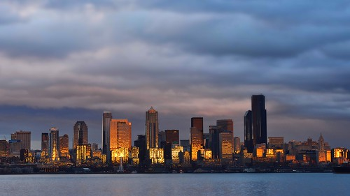 Seattle from Alki | by @GilAegerter / klahini.com