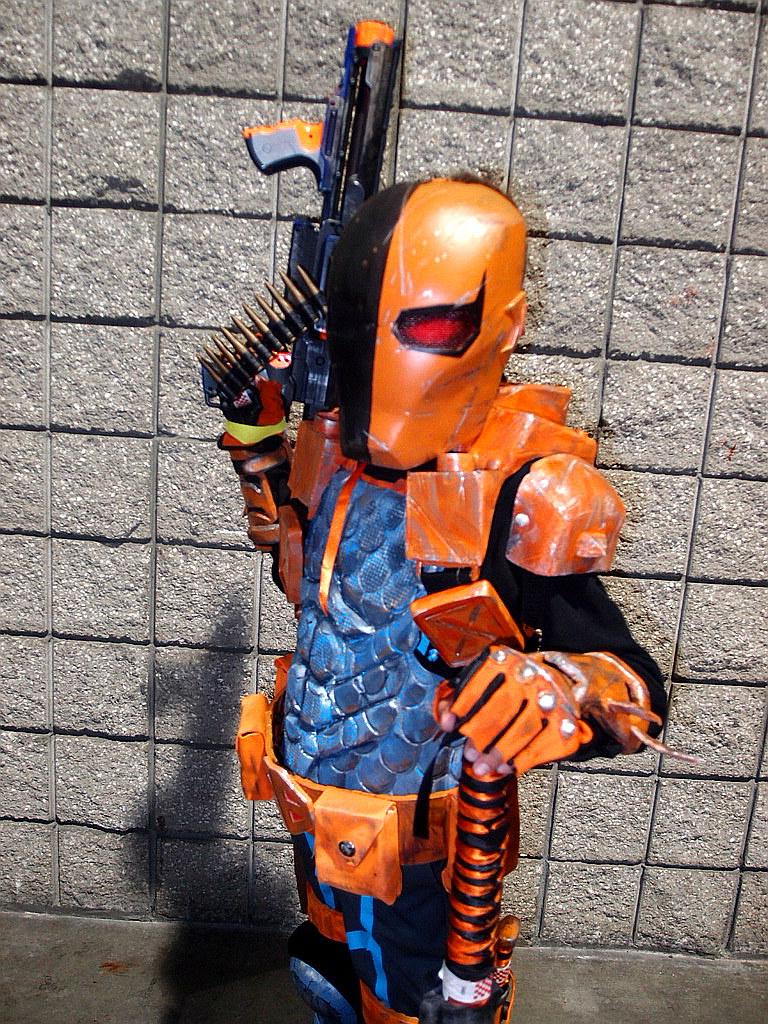 ... Kid Danger as Deathstroke | by Trinity All-Stars & Kid Danger as Deathstroke | Cosplay at Long Beach Comic Con | Flickr