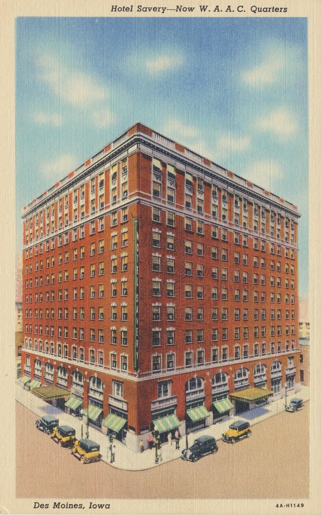 Hotel Savery - Des Moines, Iowa