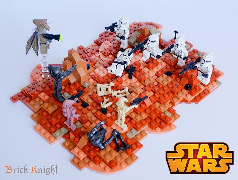 MOC] Battle of Geonosis - LEGO Star Wars - Eurobricks Forums