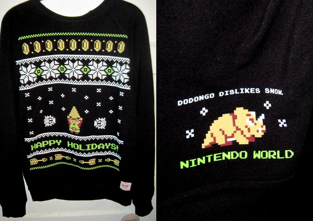 zelda christmas sweater by avane collection