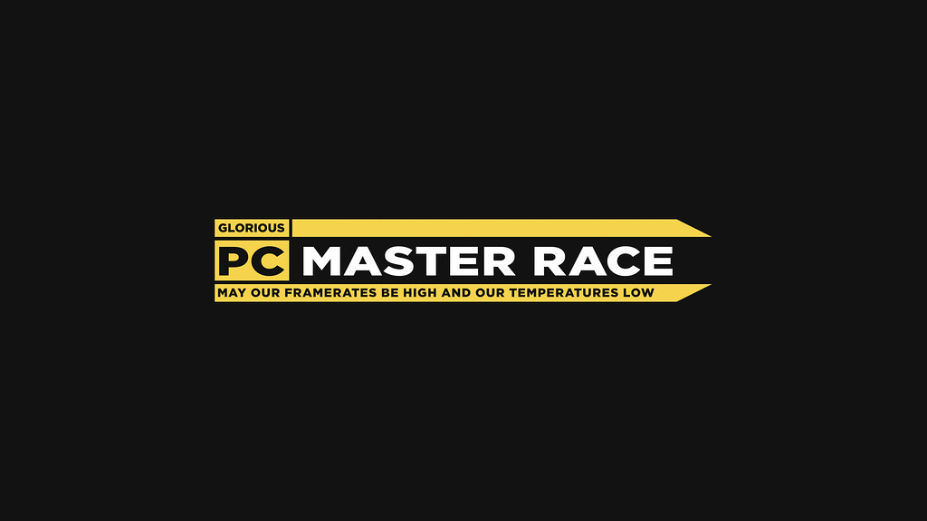 pcmr logo 2560x1440 xpost from r pcmasterrace ift tt 1 flickr