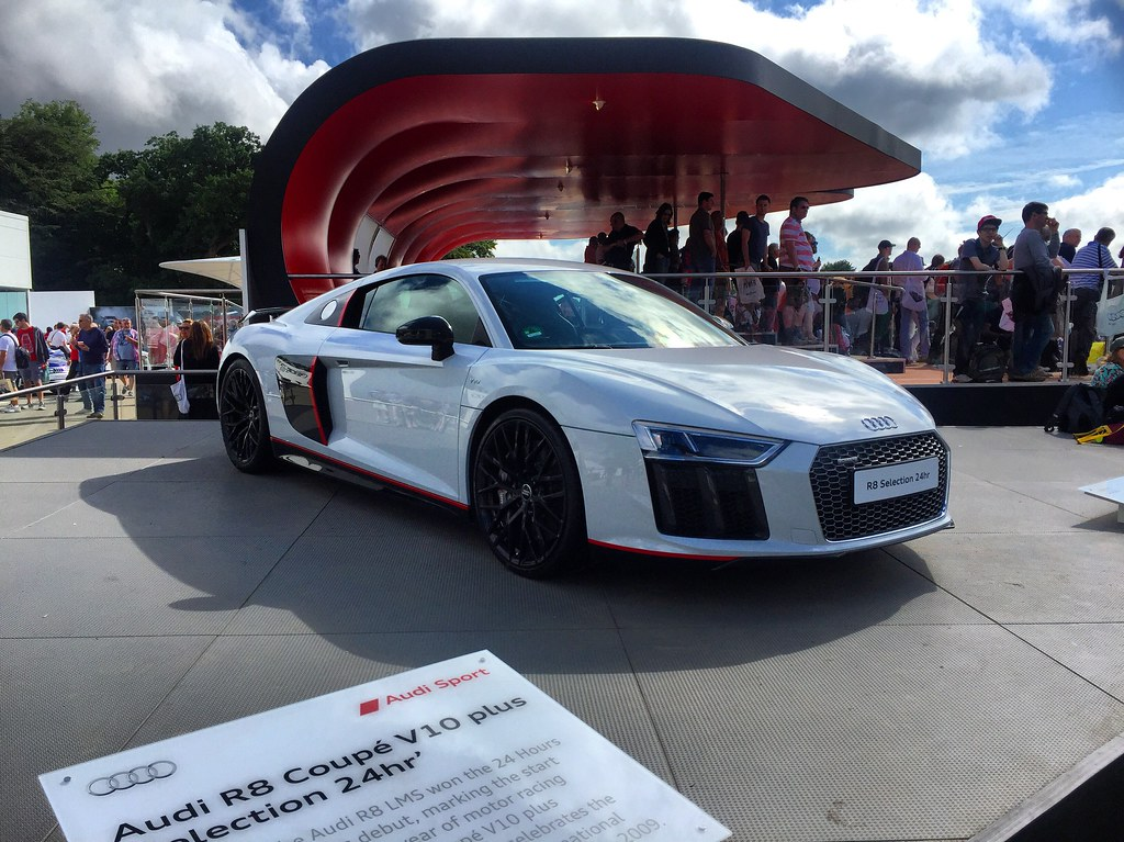 Audi R8 Coup V10 Plus Selection 24hr Goodwood Festival Of Flickr
