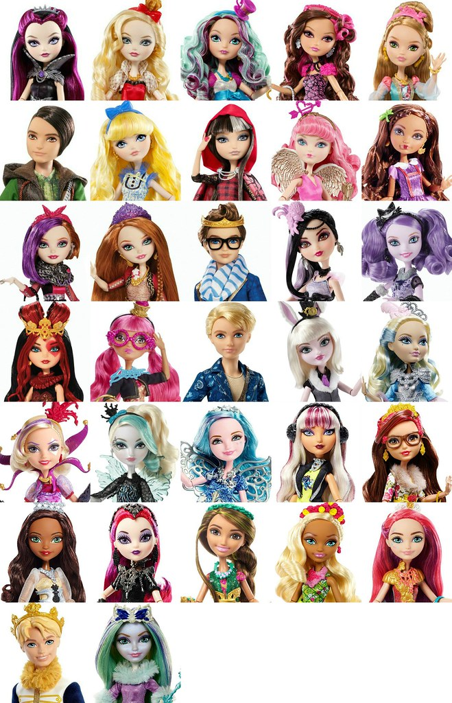 ever after high list of all characters so far at least flickr
