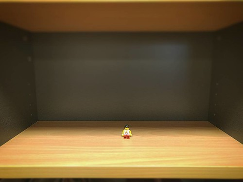 A forlorn figure on an empty desk | by mrkrndvs