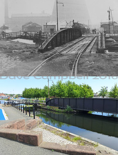 Swing bridge then and now | by Dave S Campbell