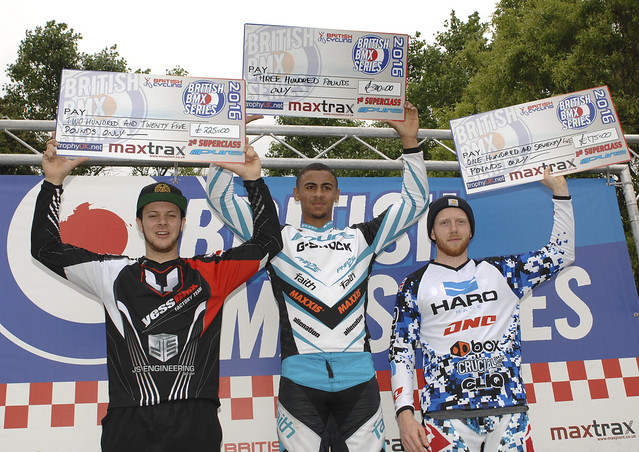 2016 British BMX Series, rounds 9 and 10, Blackpool, July 23-24 2016