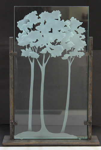 Etched Trees | by Northern Art Glass
