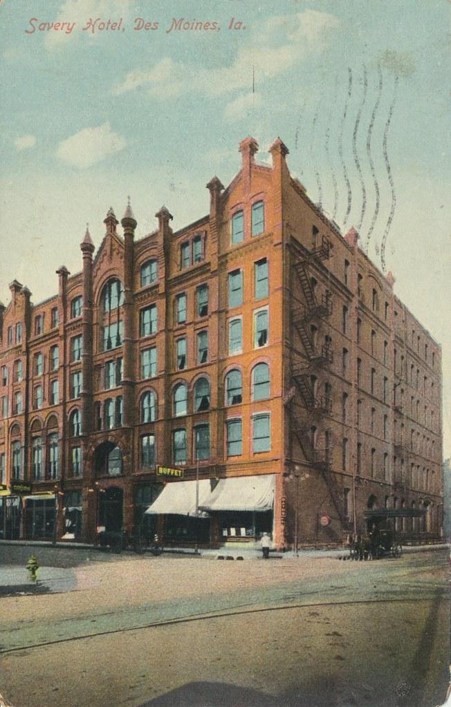 Savery Hotel - Des Moines, Iowa