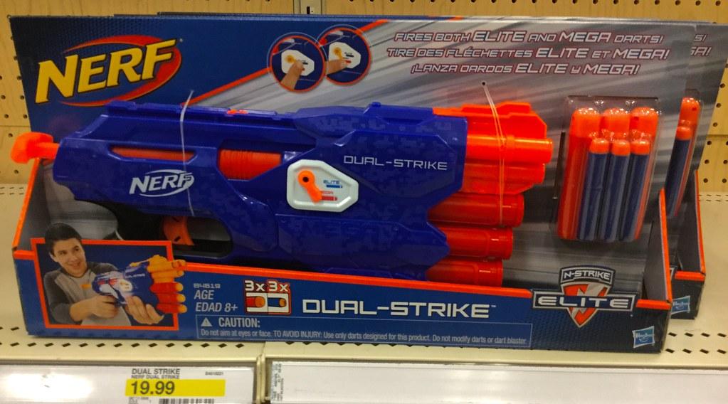 Nerf Dual Strike | by JeepersMedia Nerf Dual Strike | by JeepersMedia