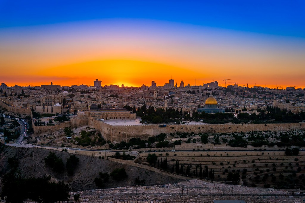 Image result for image jerusalem at sunset