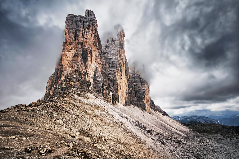 Tre Cime di Lavaredo | The Tre Cime di Lavaredo (Italian for… | Flickr