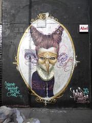 Sokar Uno street art, Shoreditch