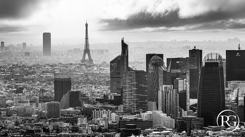 Paris vertical de montparnasse la d fense copyright flickr for Photographe la defense