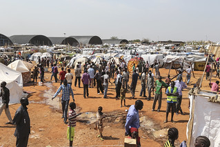 UN Grounds in Juba Become IDP Camp for Thousands | by United Nations Photo