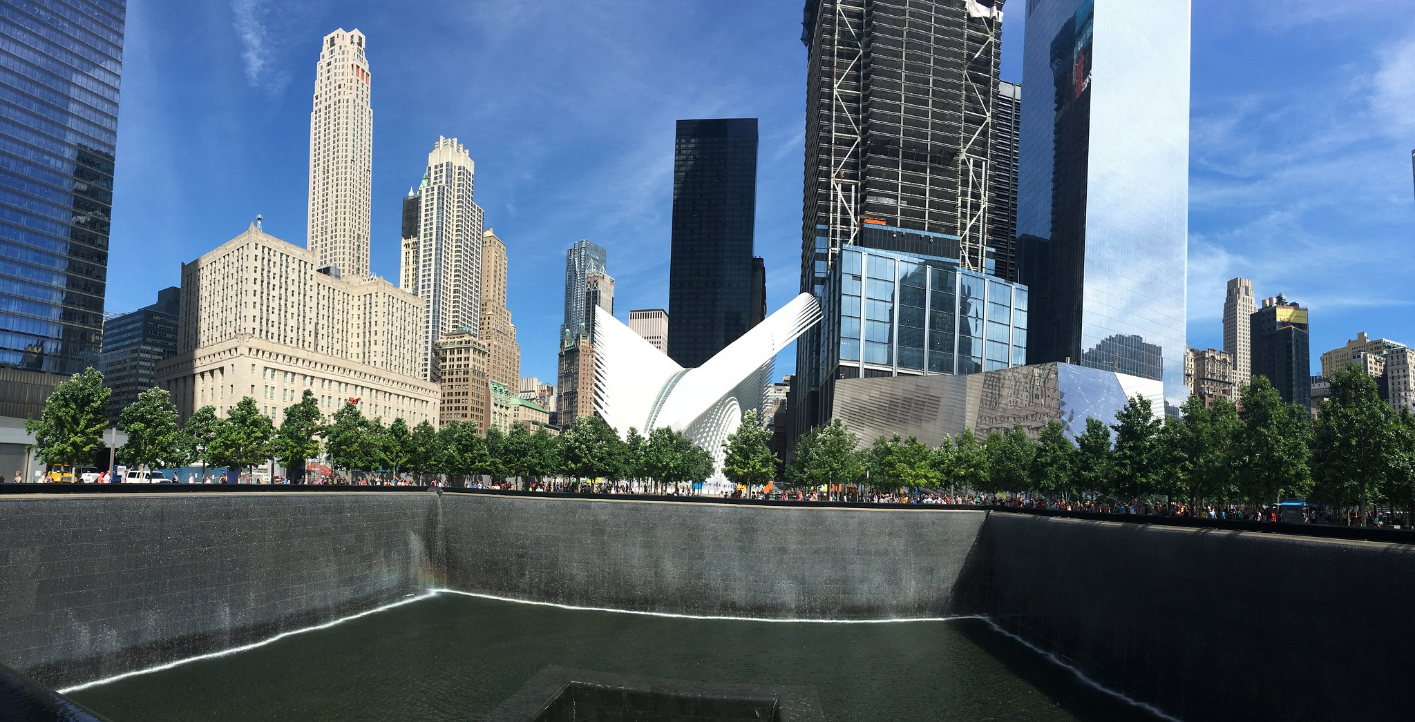 World trade centre memorial kuva