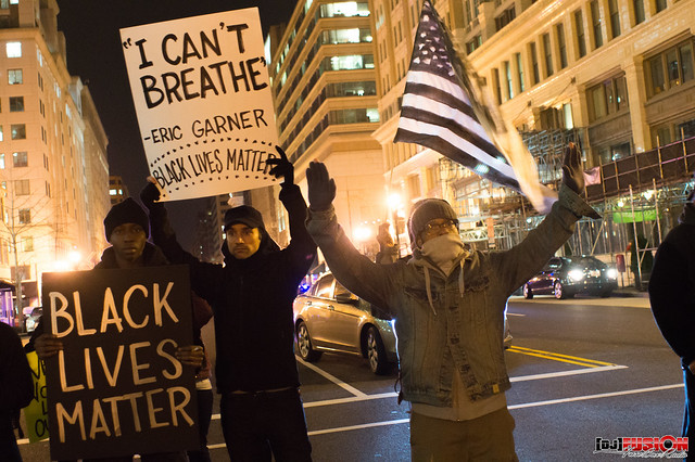 #ICantBreathe Rally & Protest - Washington, DC (via NBUF & #DCFerguson)