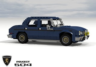 Peugeot 504 Berline 1968 The Peugeot 504 Is A Large Fami Flickr