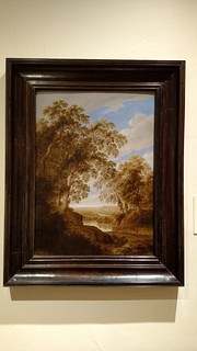 Alexander Keirincx - Wooded River Landscape with Deer - c 1643 - Flemish FRAMED | by Roger314