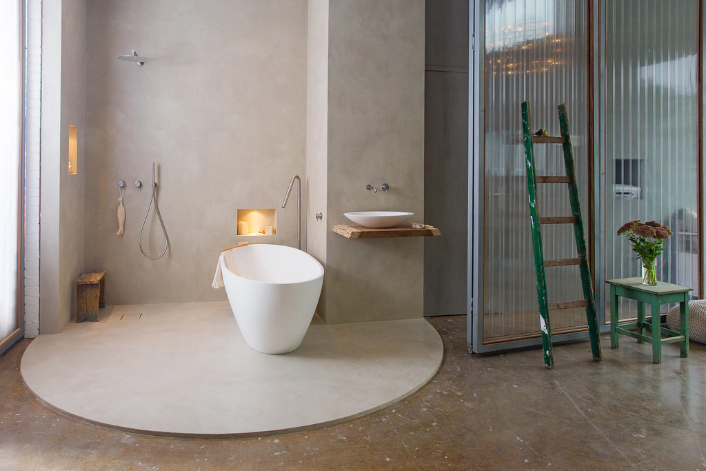 Cocoon Bathroom Showroom Béton Ciré Pro Amsterdam | Cocoon B… | Flickr