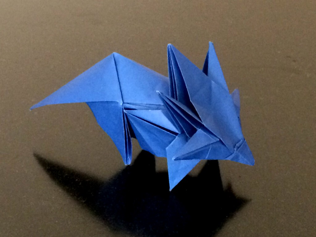 Origami Frog Base - written and pictorial tutorial   Jessie At Home   768x1024